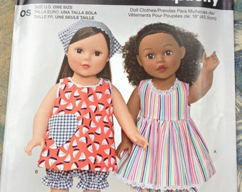 Its so easy its Simplicity dolls clothes pattern 1149