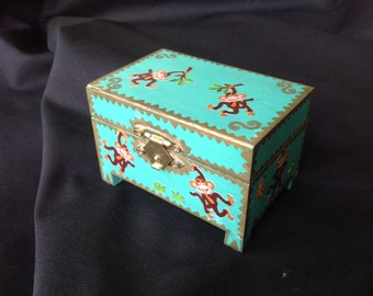 OOAK hand painted tooth fairy or treasure boxes