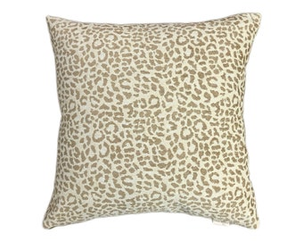 "Decorative Throw Pillow Cover 18""x18"" or 20""x20"" or 22""x22"", Lumbar Pillow, Accent Pillow, Sofa Pillow, Animal Print Pillow."