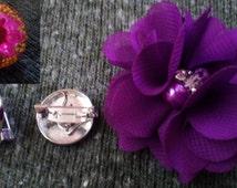 Snap Button Socket Badge for 18 20 25 mm Ginger Popper Press Noosa Gem Snaps for Women Men Children Shirts Dresses Jackets Coats Scarfs Hats