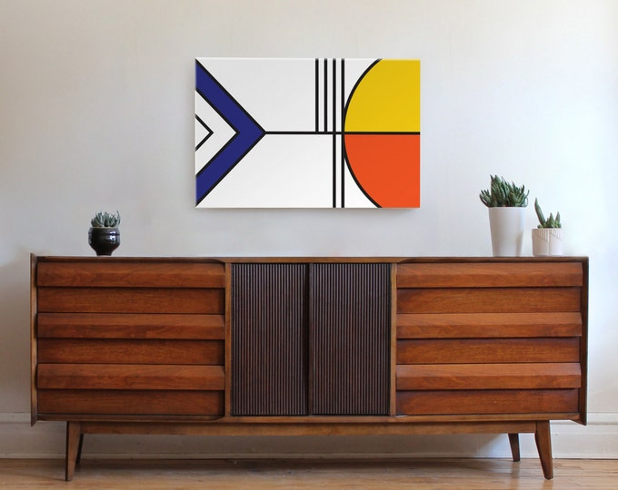 BALANCE canvas wall art