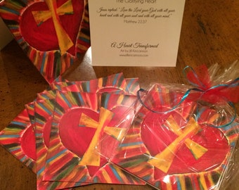 Glorifying Heart Note Cards
