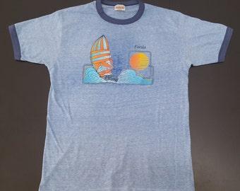 Vintage Hanes 50/50 Florida super soft thin souvenir tshirt size Large
