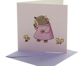 Mole Blank Card