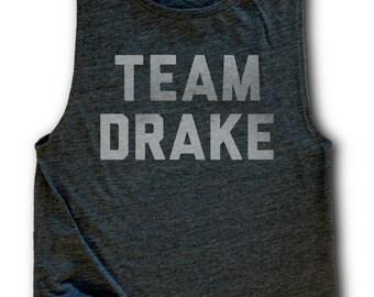FLASH SALE - Team Drake Womens Flowy Muscle Tank