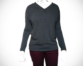 Long Sleeve V-Neck