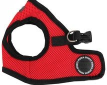Mesh Soft Harness Vest by Puppia - Red - PAHA-AH305
