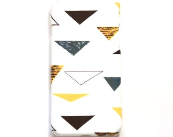 Geometric iPhone 6 case, Triangle Cell Phone Case, iPhone 6 Cell Phone Cover