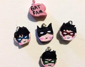 batfamily charms