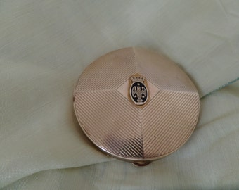 Lovely Coty Powder Compact with Eagle Motif