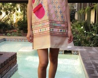 Modern Thai hill tribe dress