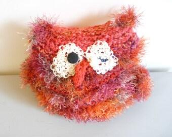 Glitterazi red owl
