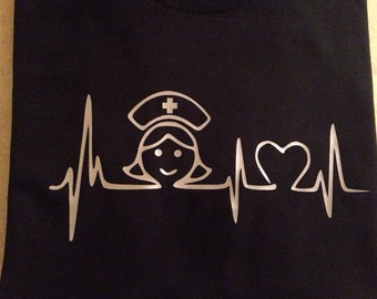 Heartbeat Nurse Shirt