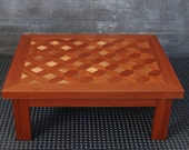 coffee table and seating, low sofas, done by hand, marquetry, mosaic, a support table, art, modern, stylish, luxury, mahogany, walnut, wood