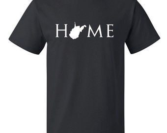 West Virginia home T Shirt, Your state T Shirt, West Virginia shirt, West Virginia T Shirt, West Virginia home, West Virginia home T