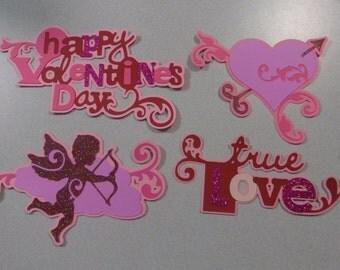 Valentine's Day Cricut Die Cut Set