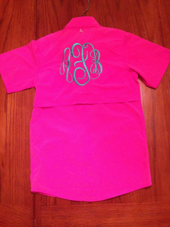 Little girls 39 fishing shirt swimsuit coverup for Girls fishing shirts