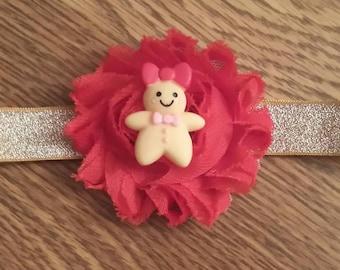 Gingerbread Girl Headband