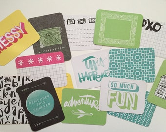 Amy Tangerine Plus One Edition - Project Life Cards - Partial Set
