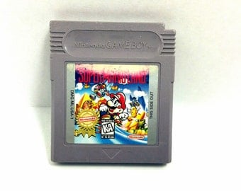 Super Mario Land Nintendo Gameboy 1989