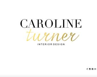Portfolio/Blog Website Design