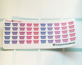 Mini Laundry Baskets. Perfect for any Planner!