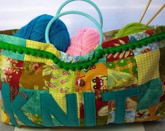 Knitting / craft bag.