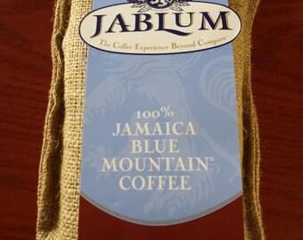 Jablum 100% Jamaican Blue Mountain Coffee Roasted Beans 16oz
