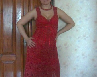 """Lacy dress """"Passion Fire"""""""
