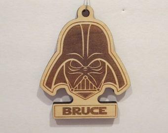 Darth Vader Inspired Ornament Darth Vader Christmas Tree Ornament Darth Vader Personalized Ornament Star Wars Christmas Ornament