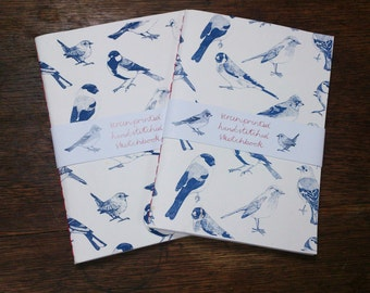 British Song Birds || A5 Blank Notebook