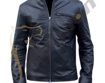 BNWT STALLION Men's LAMBSKIN Leather Jacket ST026