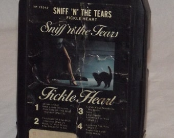 Sniff 'n' the Tears Fickle Hearts 8 Track Tape