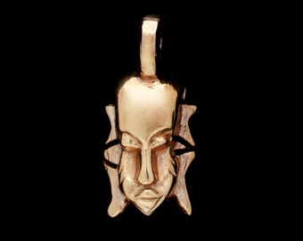 African Mask Pendant