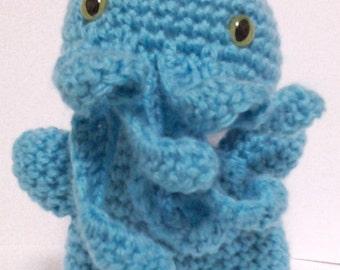 Cuddly Cthulhu Softee (Light Blue)