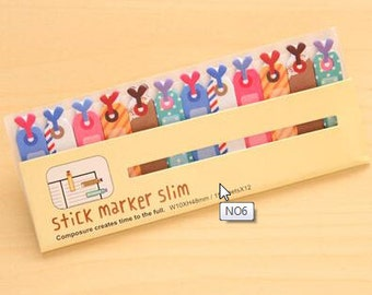 Gift Tag Page Flags, Page Markers, Page Stickers (2C-30)