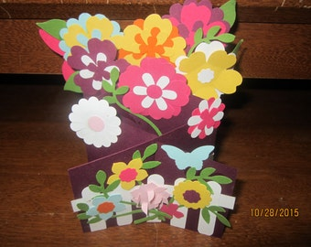 Flowering Garden Card