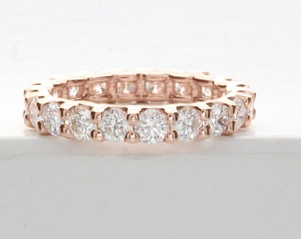 Diamond Eternity Ring, Diamond Eternity Band, 2 Carat Diamond Eternity Band, 2 Carat Diamond Eternity Ring, Diamond Wedding Band