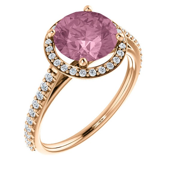 unique engagement ring morganite engagement ring
