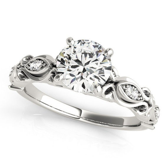 unique moissanite ringsimple moissanite engagement ring