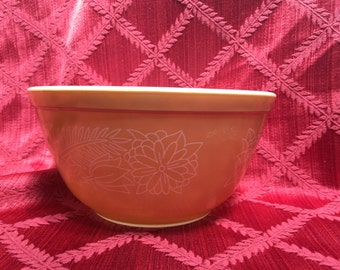 Pyrex Bowl, 402, Woodland, Mixing Bowl, Vintage