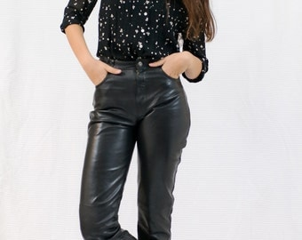PANTS LEATHER VINTAGE