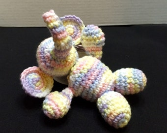 Crochet Elephant, Elephant Amigurumi, Crocheted Elephant, Nursery Decor