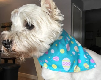 Small Easter Egg Dog Bandana