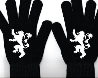 House Lannister Gloves Inspired by Game Of Thrones