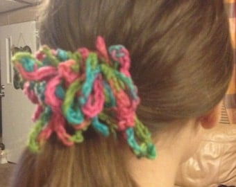 Crocheted Hair accessory
