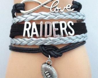 Raiders Infinity Bracelet