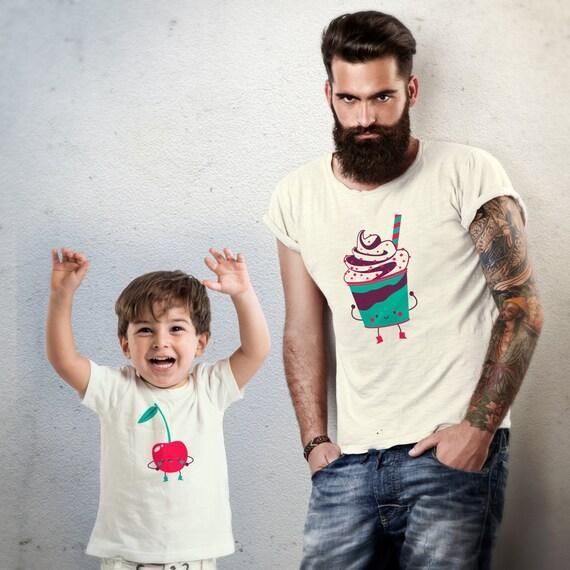duo p re fils t shirts meilleur ami t shirt dr le papa et. Black Bedroom Furniture Sets. Home Design Ideas