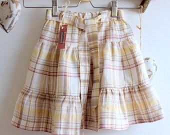 Irish linen handmade skirt