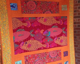 If Wishes Were Fishes quilt